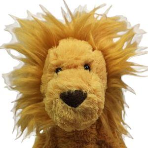 Jellycat London Pitterpat Lion Medium Plush Retired King of the Beasts